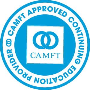 logo art for CAMFTA Approved Continuing Education Provider